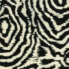 AC809-39 MELOIRE REVERSE Black on Tint Quadrille Fabric