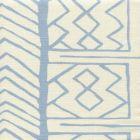 AC811-01 ARUBA II Windsor Blue on Tint Quadrille Fabric