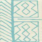AC811-04 ARUBA II Turquoise on Tint Quadrille Fabric