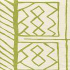 AC811-05 ARUBA II Jungle Green on Tint Quadrille Fabric
