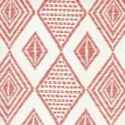 AC850-01 SAFARI EMBROIDERY Melon on Tint Quadrille Fabric