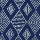 AC850-02 SAFARI EMBROIDERY Soft Windsor on Tint Quadrille Fabric
