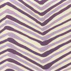AC950-06 ZIG ZAG MULTI COLOR Lavender Purple on Tint Quadrille Fabric