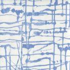 AC990-06 TWILL Denim Blue on White Quadrille Fabric