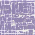 AC995-03 TWILL REVERSE Lavender on White Quadrille Fabric