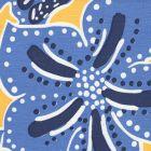 AC125-03 ALBANY MULTICOLOR Multi Blues on Yellow Quadrille Fabric