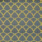 CL 0027 26714 RONDO Oro Bluette Scalamandre Fabric