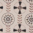 F0376/02 MANDANA Ebony Clarke & Clarke Fabric
