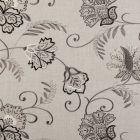 F0379/02 BUKHARA Ebony Clarke & Clarke Fabric