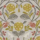 F1314/03 FORESTER Ochre Clarke & Clarke Fabric