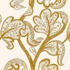HN 00YY F1015 RUSSELL LINEN Butterscotch Scalamandre Fabric