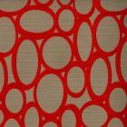 RHODES Scarlet 30 Norbar Fabric