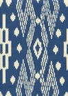 7610-11 ANDROS BATIK New Navy on Tinted Linen Custom Only Quadrille Fabric