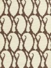9060-09 CARNA Brown on Tint Quadrille Fabric