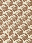 8070-07 DUNMORE Tobacco on Tint Custom Only Quadrille Fabric