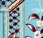 6010-03 LYFORD PRINT Lyford Blue on Tint Quadrille Fabric