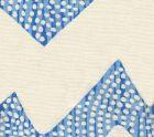 AC720-07 MOJAVE ZIG ZAG Turquoise on Tint Quadrille Fabric
