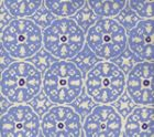 149-41 NITIK II French Blue Navy on Tint Quadrille Fabric