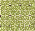 149-39 NITIK II Jungle Green Brown on Tint Quadrille Fabric