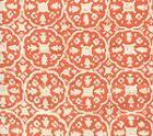 149-45 NITIK II Orange on Tint Quadrille Fabric