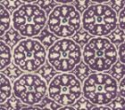 149-44 NITIK II Purple Navy on Tint Quadrille Fabric