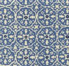 149-20T NITIK II Blue Flores Blue on Tint Quadrille Fabric