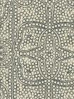 CP1000-10 PERSIA Black on Taj Ecru Quadrille Fabric
