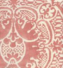 302212F VENETO Terracotta on Tint Quadrille Fabric