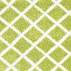 JF01000-07 SHANGHAI Pistachios on White Quadrille Fabric