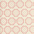 JF01060-03 SYBIL Melon on Tint Quadrille Fabric