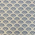 NAOMI Blue Magnolia Fabric