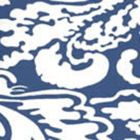2335-50WP SAN MARCO REVERSE Navy On Almost White Quadrille Wallpaper