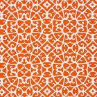 SC 000416559 16559-004 ANSHUN LATTICE Persimmon Scalamandre Fabric