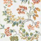 16611-001 KEW GARDENS WARP PRINT Multi On Ivory Scalamandre Fabric