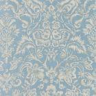 16598-002 MANSFIELD DAMASK PRINT Bluestone Silver Scalamandre Fabric