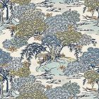 SC 0002 16627 SEA OF TREES Blue Ridge Scalamandre Fabric