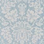 27136-003 METALLINE DAMASK Bluestone Scalamandre Fabric