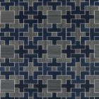 SC 0004 WP88471 ALLEGRO - SISAL Evening Blue Scalamandre Wallpaper
