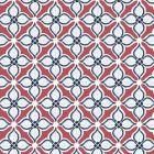W03vl-5 GLIMMER Red Stout Wallpaper