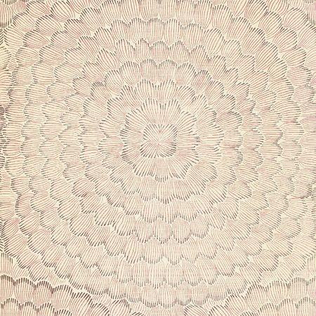 Schumacher Feather Bloom Venetian Pink Wallpaper Discount Fabric