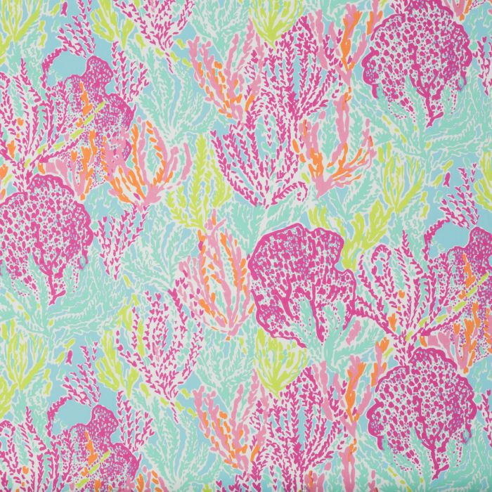1a93805f662e77 Lee Jofa Let's Cha Cha Tiki Shorely Fabric | Discount Fabric and Wallpaper  Online Store