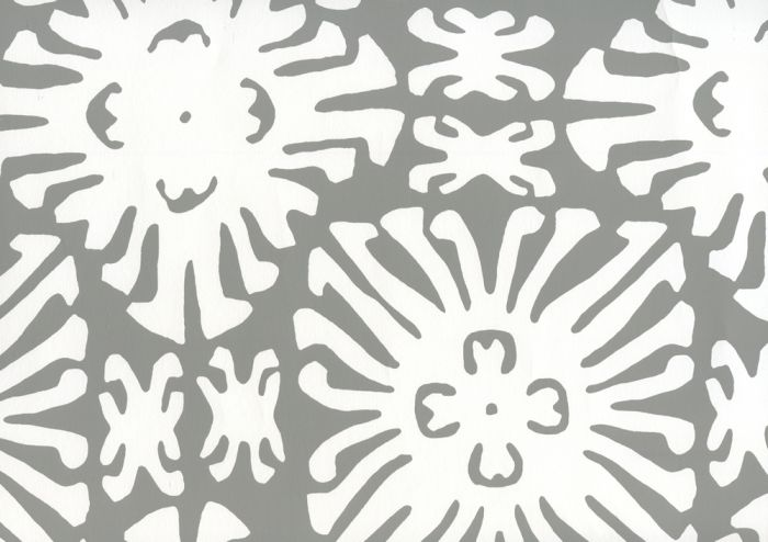 2485WP-06 SIGOURNEY REVERSE SMALL SCALE Gray On White Quadrille Wallpaper   Discount Fabric and Wallpaper Online Store