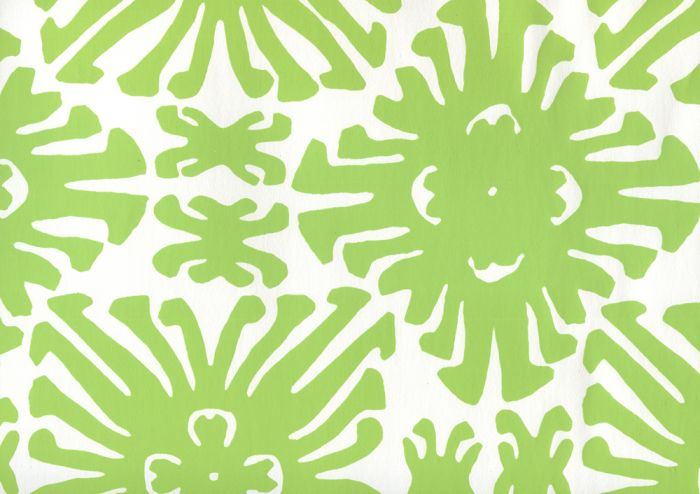 2475WP-02 SIGOURNEY SMALL SCALE Jungle Green On White Quadrille Wallpaper | Discount Fabric and Wallpaper Online Store