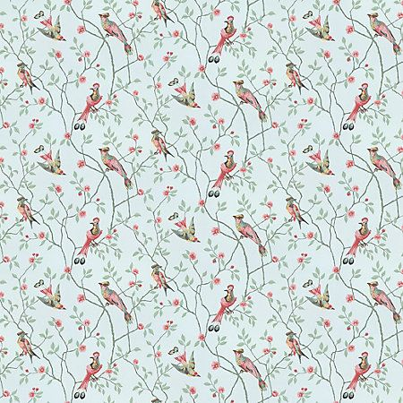 WSB 00170413 EUGEN Turquoise Sandberg Wallpaper   Discount Fabric and Wallpaper Online Store