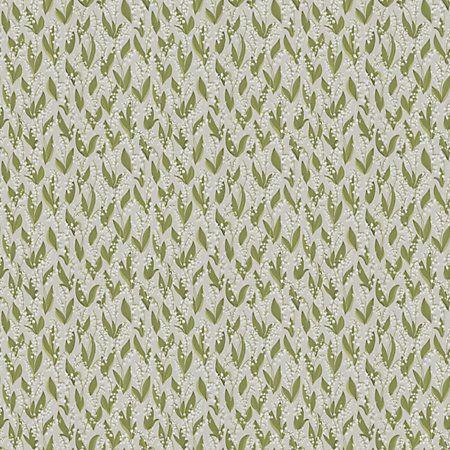 WSB 00310479 LILJEKONVALJ Grey Sandberg Wallpaper   Discount Fabric and Wallpaper Online Store