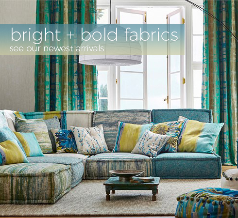 Source 4 Interiors Bright and Bold Fabrics