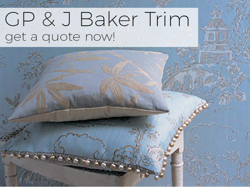 Source 4 Interiors GP & J Baker Trims